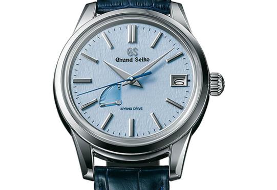 グランドセイコーの青文字盤/青カラーのおすすめ腕時計